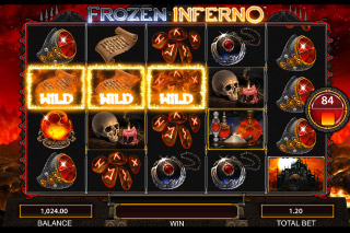 Frozen Inferno Mobile Slot Red Wizard