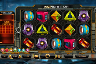 Incinerator Mobile Slot Reels