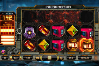 Incinerator Mobile Slot Wilds