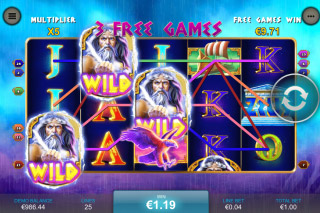 King of Olympus Mobile Slot Free Games