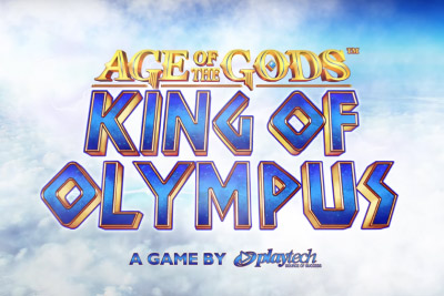 King of Olympus Mobile Slot Logo