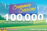 LeoVegas Mobile Casino 100,000 Summer Sessions GIveaway