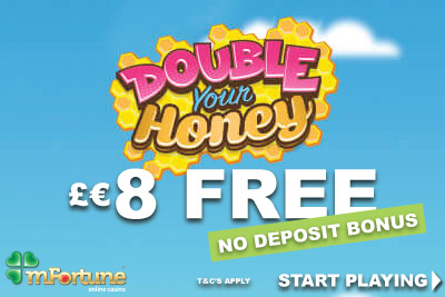 Get Your £€8 Free Money Bonus At mFortune Mobile Casino