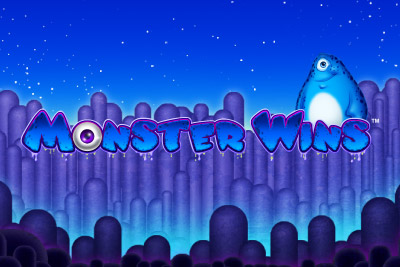Monster Wins Mobile Slot Logo