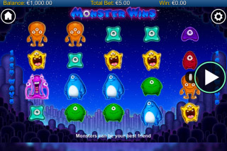 Monster Wins Mobile Slot Reels