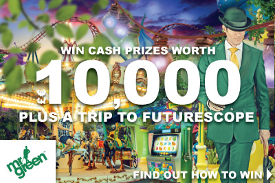 Win Your Share of 10K At Mr Green Mobile Casino