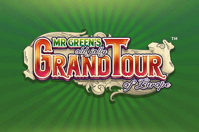 Mr Green's Grand Tour Mobile Slot Logo