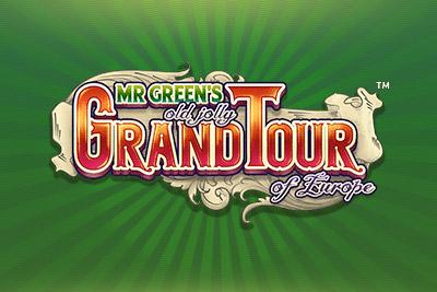 Mr Green's Grand Tour Mobile Slot Logo