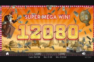 Mr Green's Grand Tour Mobile Slot Super Mega Win