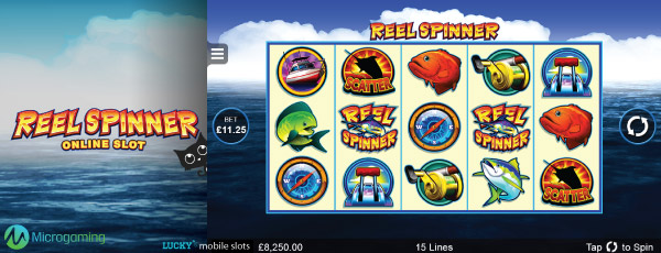 Mobile Reel Spinner Slot Preview