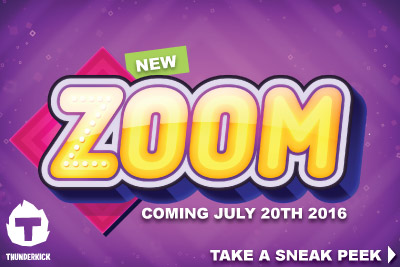 New Thunderkick Zoom Mobile Slot Coming July 2016
