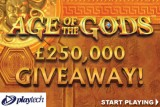 Play Age of The Gods Slots & You Could Win Cash