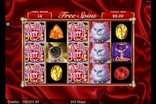 Pretty Kitty Mobile Slot Free Spins