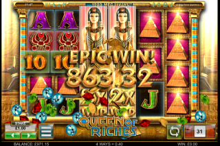 Queen of Riches Mobile Slot Epic Win