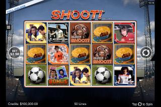 Shoot Mobile Slot Reels