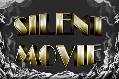 Silent Movie Mobile Slot Logo