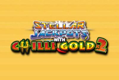 Stellar Jackpots Chilli Gold 2 Mobile Slot Logo