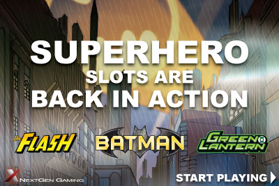 Get In On The Superhero Mobile Slots Action