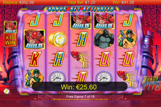 The Flash Mobile Slot Bonus
