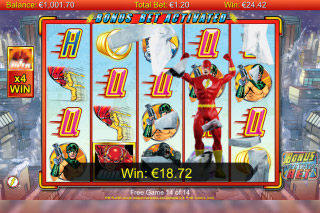 The Flash Mobile Slot Bonus Bet