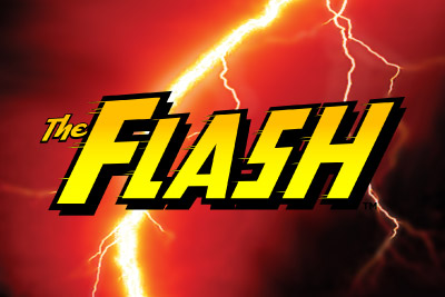 The Flash Mobile Slot Logo