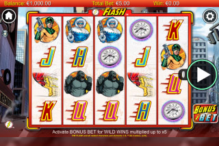 The Flash Mobile Slot Reels