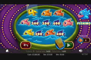 Theme Park Mobile Slot Fishing Bonus