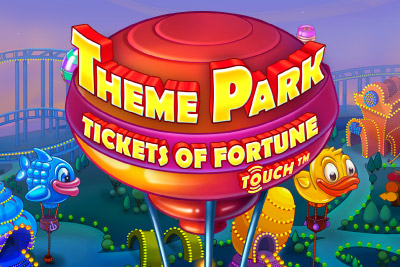 Theme Park Mobile Slot Logo