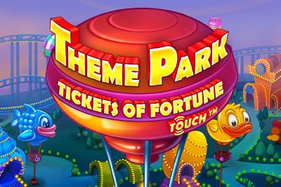 Theme Park Mobile Slot Logo