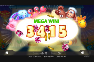 Theme Park Mobile Slot Mega Win