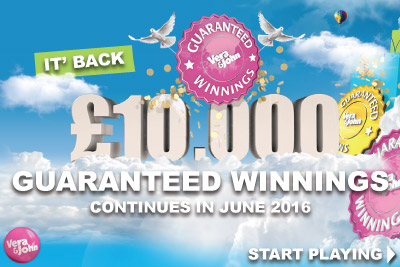 Enjoy Guaranteed Winnings Every Day With Vera&John