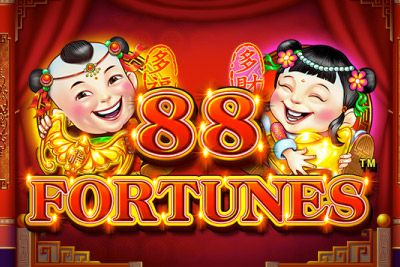 88 Fortunes Mobile Slot Logo