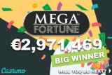 Casumo Mobile Casino Mega Fortune Jackpot Win