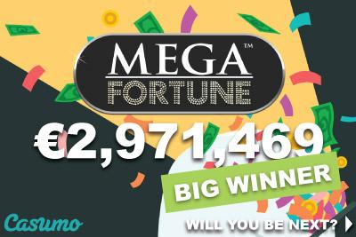 Wins of Fortune slot - Casumo Casino
