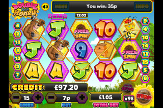 Double Your Honey Mobile Slot Reels