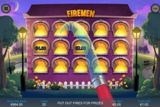 Firemen Mobile Slot Bonus