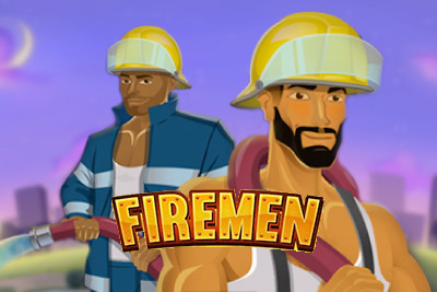 Firemen Mobile Slot Logo