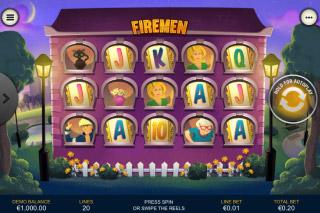 Firemen Mobile Slot Reels
