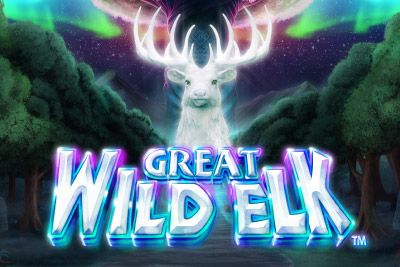 Great Wild Elk Mobile Slot Logo
