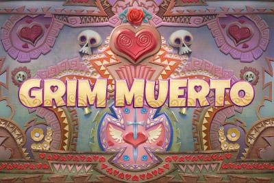 Grim Muerto Mobile Slot Logo