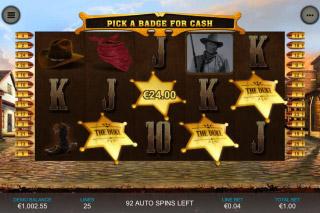 John Wayne Mobile Slot Bonus Game