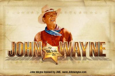John Wayne Mobile Slot Logo