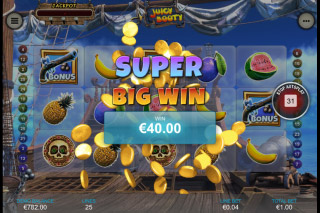 Juicy Booty Mobile Slot Big Win