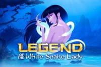 Legend Of The White Snake Lady Mobile Slot Logo