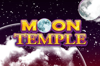 Moon Temple Mobile Slot Logo