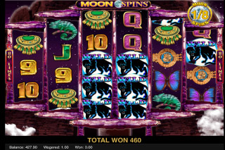 Moon Temple Mobile Slot Moon Spins