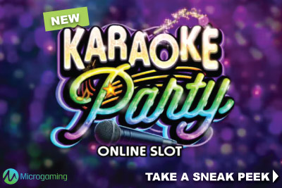 New Microgaming Karaoke Party Mobile Slot Coming August