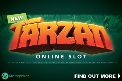 New Microgaming Tarzan Slot Coming In 2016