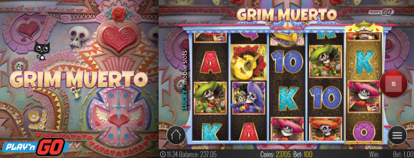 Play'n GO Grim Muerto Slot Machine