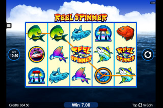 Reel Spinner Mobile Slot Reels